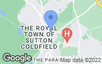 Map of Sutton Coldfield, West Midlands